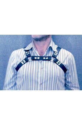 leather harness fetish